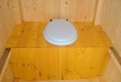 Унитаз пластик для дачного туалета