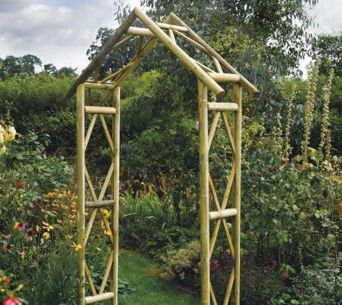 Сделать арку садовую своими руками из дерева 64