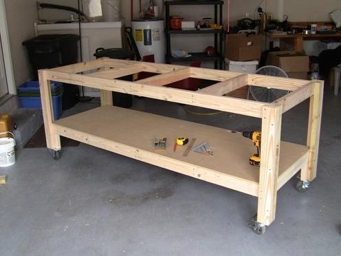 Как сделать верстак стол