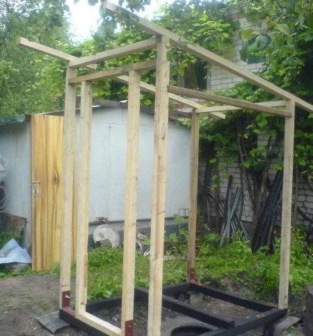 Строительство туалета на даче своими руками фото