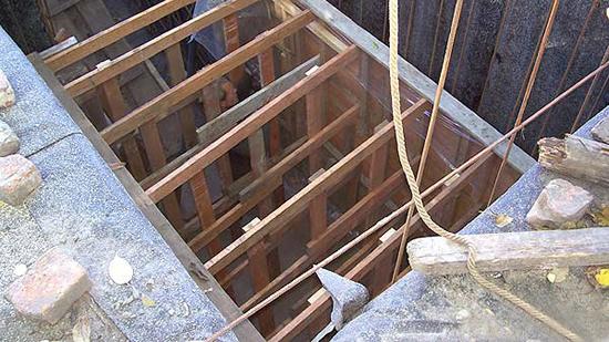Изготовление подвала из бетона своими руками 38